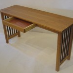 Desk with pickets