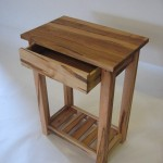 End Table - Maple Magazine Rack - Drawer