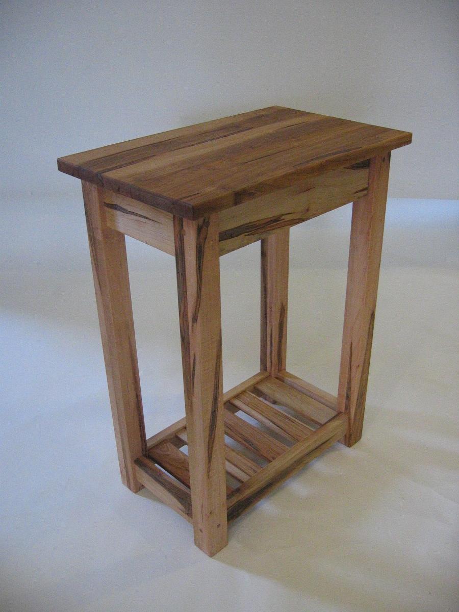 ambrosia maple end table  futon designs - end table wormy maple magazine rack