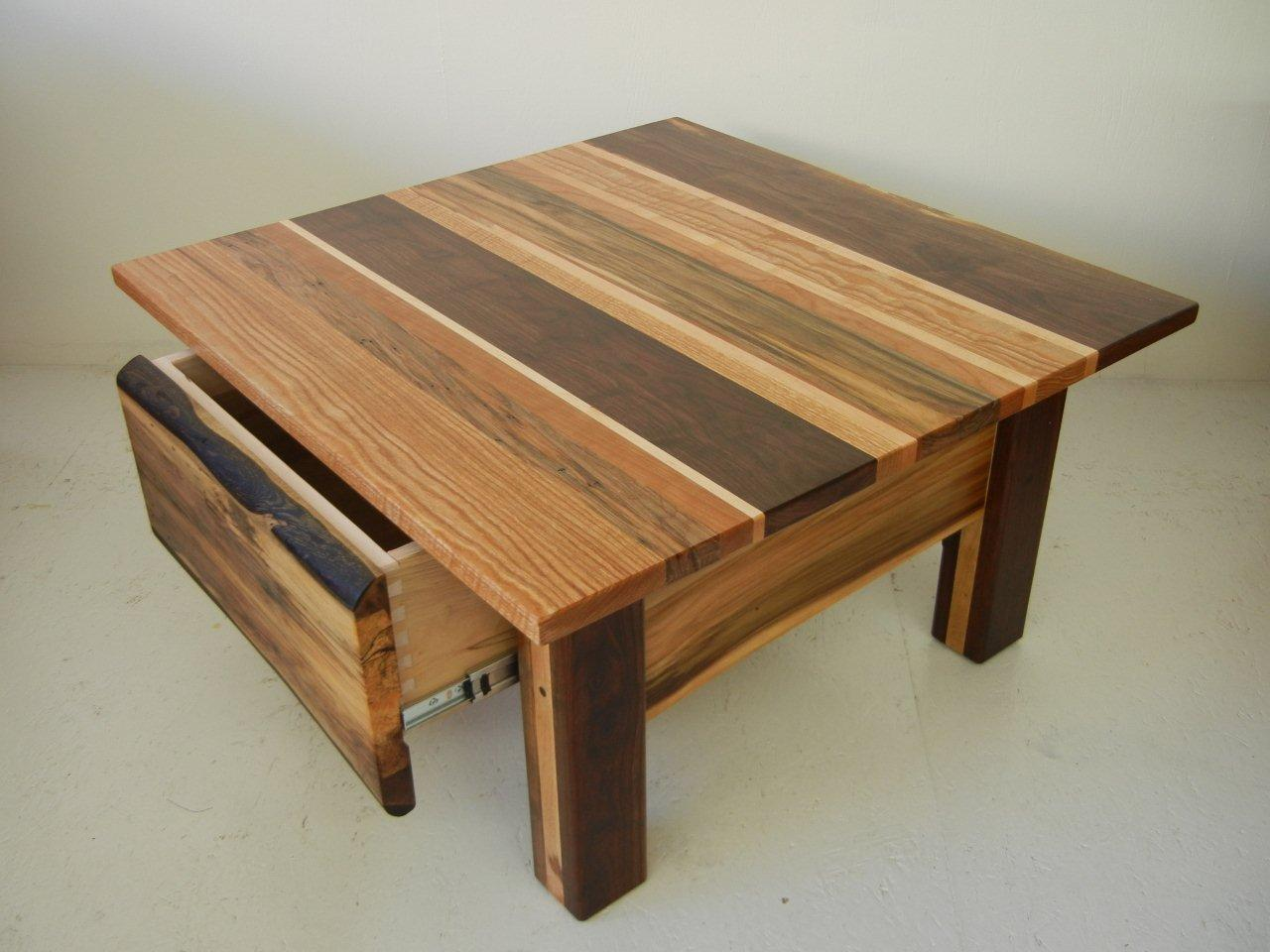 Rustic coffee table futon designs for Rustic coffee table